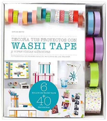 Kit Decora tus proyectos con washi tape: y otras cintas adhesivas (Kits Cúpula) por AA. VV.