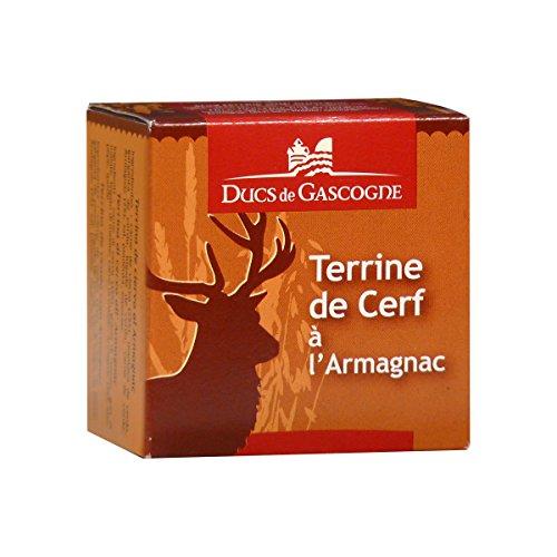 Ducs de Gascogne - Terrine de Cerf à l'Armagnac 65g