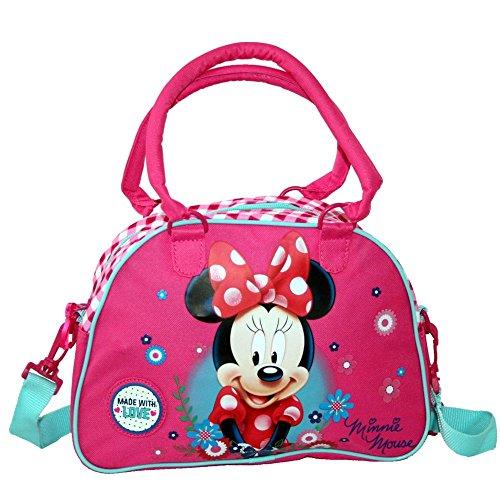 Schultertasche Tasche Classic Mouse 29x22x8cm (Minnie Maus-tasche)