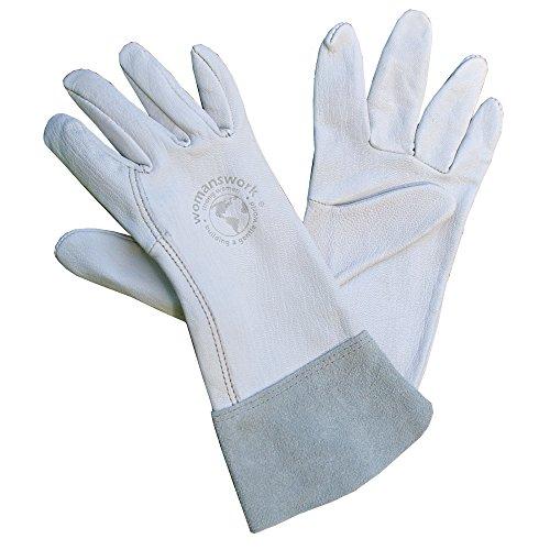 Top-grain-rindsleder-handschuhe (womanswork groß Ziegenleder Handschuh)