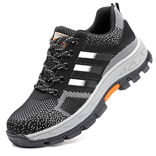 best loved 78d0a 04662 COOU Chaussure de Sécurité s3 Respirant Chaussures de Travail avec Embout de  Protection en Acier Et