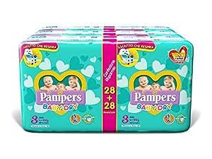 Pampers Baby Dry Duo Midi, 168 Pannolini, Taglia 3 (4-9 kg)