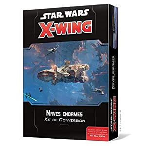 Fantasy Flight Games- Star Wars X-Wing 2.0: Naves enormes Kit de Conversión, Color (SWZ53ES)