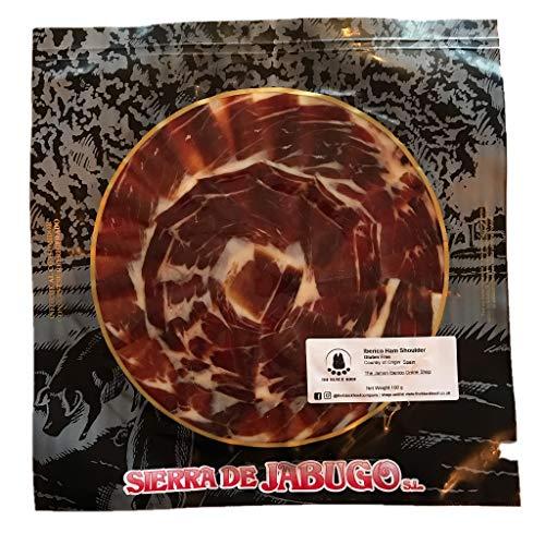 Paleta Iberica de Cebo de Campo Cortado a Mano | 100 gramos Jamon Iberico Loncheado | Jamon Iberico Cortado a Cuchillo | Jamon Iberico Pata Negra