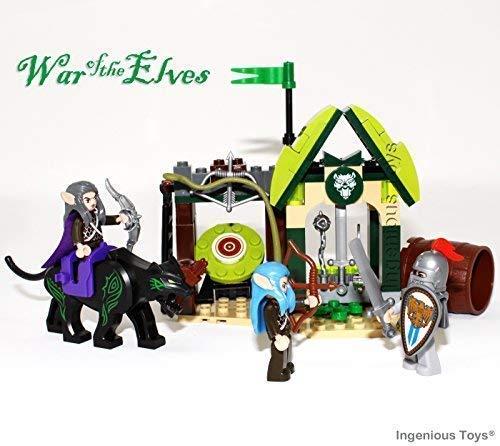 Ingenious Toys War der Elfen - Ritter Angriff - Passend Bauklötze Set #B301