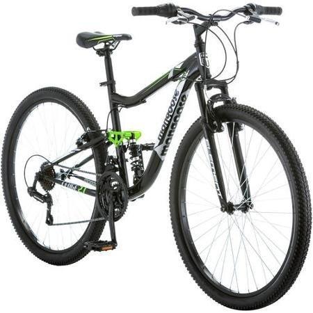 275-mongoose-ledge-21-mens-bike-for-a-path-trail-mountainsblack-aluminum-full-suspension-frame-twist