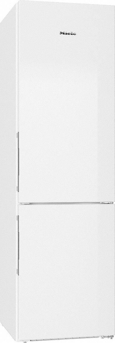 Miele KFN 29233 ws Kühl-Gefrier-Kombination / Energieeffizienz A+++ / 201 cm Höhe / 174 kWh / 101 Liter Gefrierteil / Geräumige Schublade mit verstellbarer Feuchtigkeit – Dailyfresh