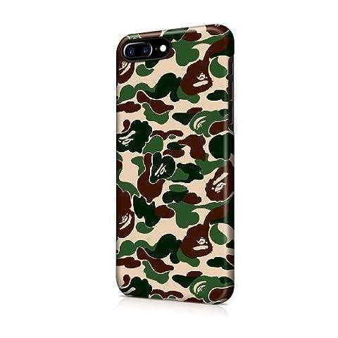 NOEL TINNEBERG SÉRIE Back coque pour iPhone 7 Plus 5,5 pouces - JFODHFLD40491 - (BAPE SHARK LOGO) THÈME plastique dur Snap-On coque peau Cover pour iPhone 7 Plus de 5,5 pouces