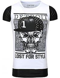 Carisma - Tee shirt Oversize Blanc T shirt Carisma 76 Blanc