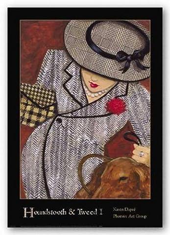 Houndstooth and Tweed One de Karen Dupre Tirages d'Art