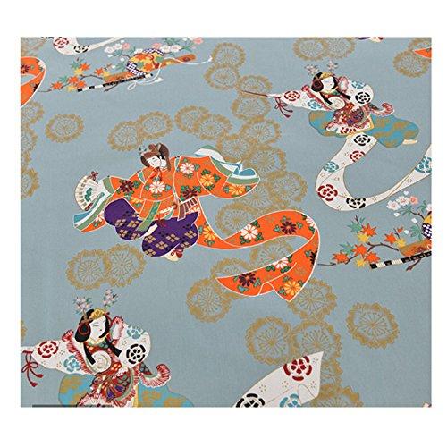 Black Temptation Paño de tela de estilo japonés multiusos para coser tela