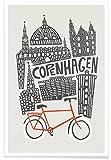 JUNIQE® Poster 60x90cm Kopenhagen - Design