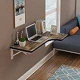 XING ZI Folding table X-L-H Wand- Tisch Computer Tisch Wand- Klapptisch Esstisch Wand Tisch Wand Tisch Tisch 5 Farben, 4 Größen (Farbe : C, größe : 100 * 40cm)