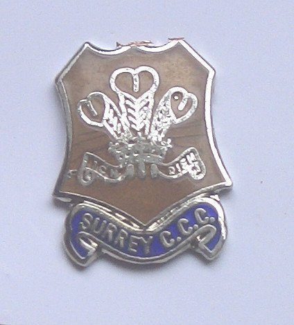 Emblems-Gifts Surrey c.c.c. Emaille Pin-Anstecker