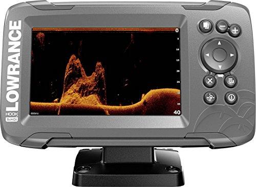 Lowrance 000-14016-001 Hook2 GPS Splitshot HDI, Fischfinder, 12,7 cm (5 Zoll) Schwarz (Gps Lowrance-5)
