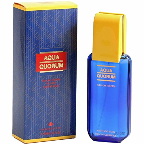 Antonio Puig Aqua Quorum Eau de Toilette Spray for Him 100 ml
