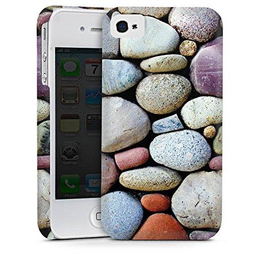 Apple iPhone 5s Housse étui coque protection Cailloux Pierres Rocher Cas Premium mat