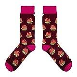 CUP OF SOX - Süßigkeiten/Kuchen / Muffins - Socken in der Tasse - Herren und Damen Geschenksocken Freizeit Socken (37-40)