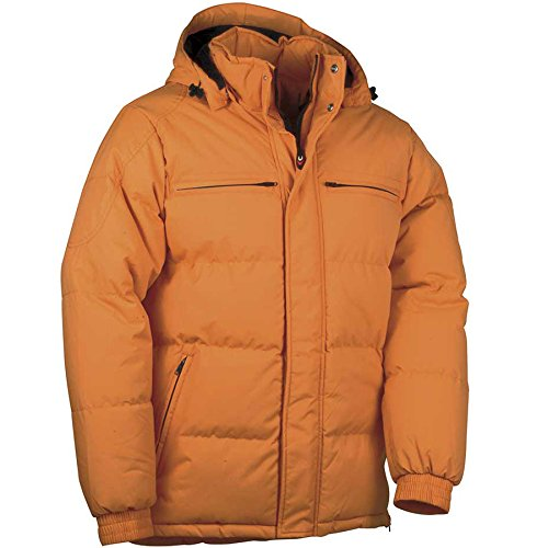 "Preisvergleich Produktbild Cofra V097-0-01.Z60 Daunenjacke ""Quebec"", Größe 60, orange"