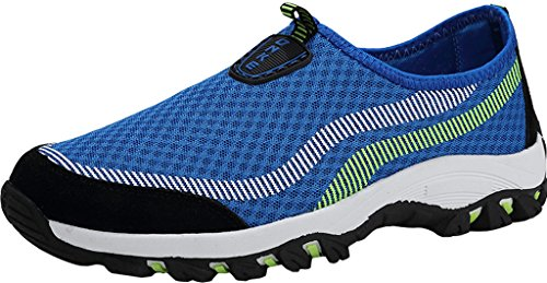 Gaatpot Traspirante Scarpe da Corsa Uomo Donna Mesh Scarpe da Ginnastica Sportive Running Sneakers Blu