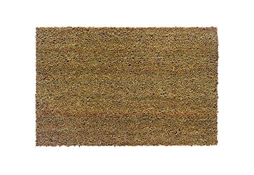 Keira, FS0101040, Kokosmatte / Türmatte / Fussmatte, 100% Kokos, für den Innenbereich, 50 x 80 cm, natur