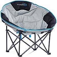 skandika outdoor Moonchair Deluxe Stuhl, Grau, XXL