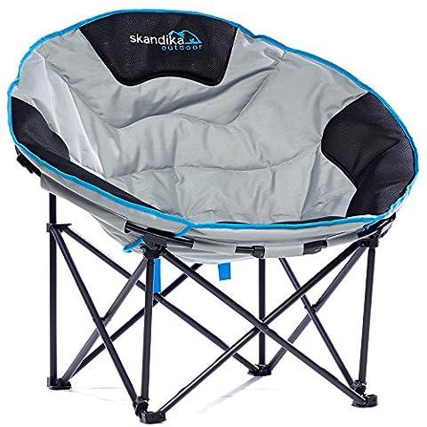 Siege De Camping Pliable - skandika Moonchair Deluxe XXL- Siège fauteuil de