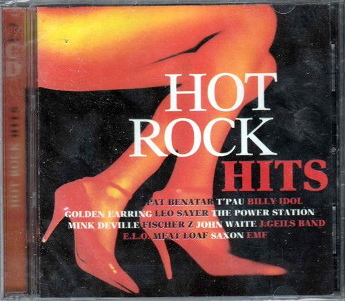 Hot Rock Hits [2-CD Compilation, 30 Tracks, incl. Love Is A Battlefield, Bette Davis Eyes, Missing You, Some Like It Hot etc.]