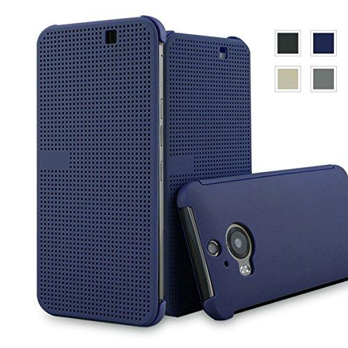 Heartly Dot View Touch Sensative Flip Thin Hard Shell Premium...