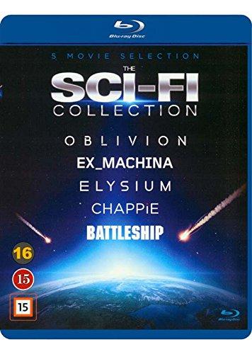 The Sci-Fi Collection 5-Disc Set ( Oblivion / Ex Machina / Chappie / Battleship / Elysium ) [ Dänische Import ] (Blu-Ray) (Tom Cruise Collection Blu-ray)