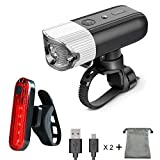 Best Bike Light Rechargeables - Bike Light Front Bicycle Torch Set, Ownmax USB Review