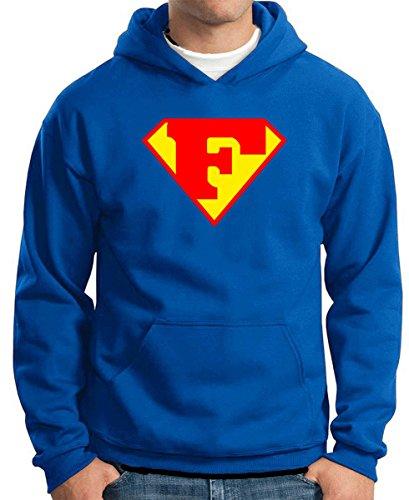 T-Shirtshock - Sweatshirt Hoodie T0656 F SUPERMAN fun for sale  Delivered anywhere in UK