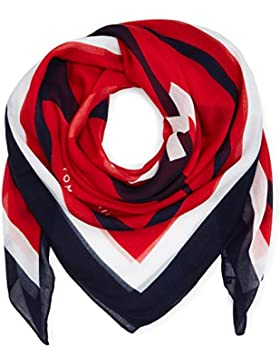 Tommy Hilfiger Tommy Hearts Scarf, Pañuelo para Mujer