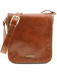 Tuscany Leather - TL Messenger - Borsa a tracolla 2 scomparti Marrone -  TL141255 1 5f3375f852a