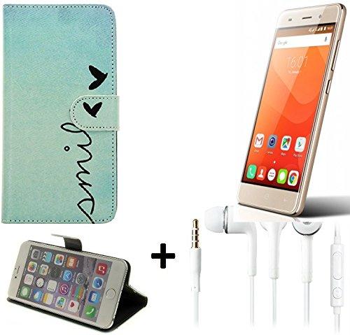 360-funda-smartphone-para-haier-leisure-l56-smile-auriculares-wallet-case-flip-cover-caja-bolsa-caso