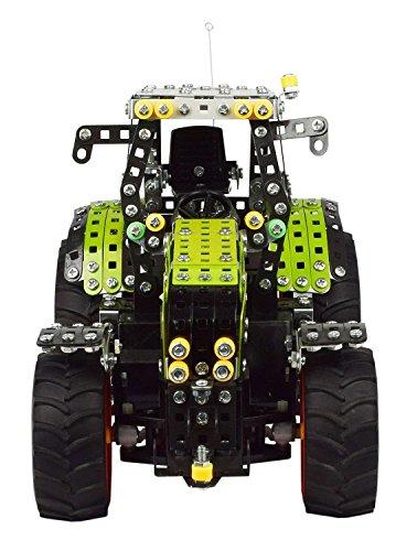 RC Auto kaufen Traktor Bild 3: Tronico 10058 - Metallbaukasten Traktor Claas Axion 850 mit Fernsteuerung, Profi Serie, Maßstab 1:16, 734-teilig, grün*