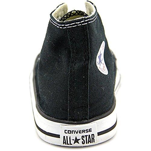 CONVERSE Scarpe da Ginnastica alla Moda Chuck Taylor All Star Accollate da Bambino - Nere Nero