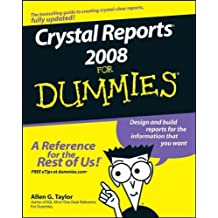 (Crystal Reports 2008 for Dummies) By Taylor, Allen G. (Author) Paperback on (05 , 2008)