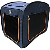Pop Up Pet Kennel Portable Premium Travel Cage Dog Cat Animal Pets Crate Medium