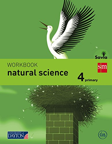 Natural science. 4 Primary. Savia. Workbook - 9788415743743