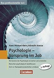 Das professionelle 1 x 1: Psychologie - Vorsprung im Job