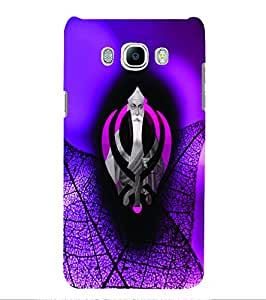 PrintVisa Religious & Spiritual Guru Nanak 3D Hard Polycarbonate Designer Back Case Cover for Samsung Galaxy On8