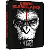 Dawn of the Planet of the Apes 3D (Planet der Affen - Revolution) Blu-Ray 3D +2D (2discs) STEELBOOK