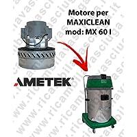 MX 60I Motor ametek de aspiración para aspiradora y te Maxiclean