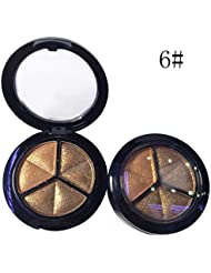 3 Colors Makeup Naked Eyeshadow Palette Smoky Cosmetic Set Professional Natural Matte Eye Shadow Palette Make Up Glitter