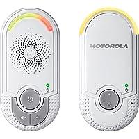 Motorola MBP 8/MBP 11/MBP 16 - Baby monitor audio digitale plug-n-go con modo eco, bianco