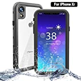 NewTsie Coque Étanche iPhone XR, Coque Antichoc iPhone XR, Imperméable IP68...