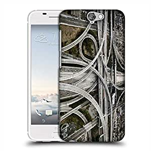 Snoogg Zig Zag Roads Designer Protective Phone Back Case Cover For Asus Zenfone 6