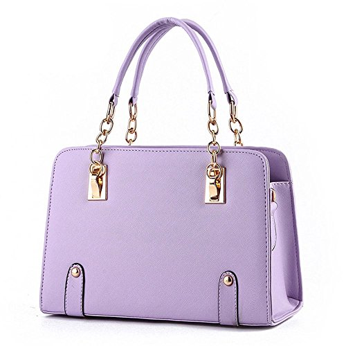 koson-man-womens-pu-leather-vintage-beauty-fashionable-tote-bags-top-handle-handbagpurple
