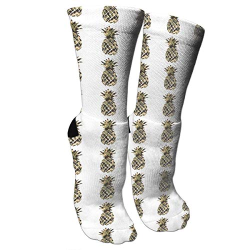 DGHKH Unisex Fun Socks - Colorful Funky Socks for Unisex - Camouflage Pineapple.png Patterned Socks